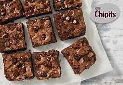Hershey's® Chipits® Triple Chocolate Brownie