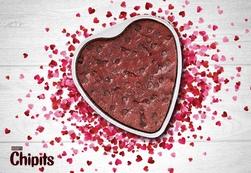 Hershey's® Red Velvet Heart Brownie