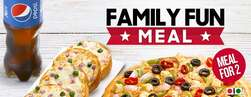 Family Fun Meal starting at Rs. 560 ( Save Upto 24%)
