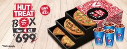 Super Saver Meal Combo starting at Rs.699 (Save Upto 42%)