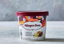 Häagen-Dazs Vanilla Caramel Brownie - 95 ml