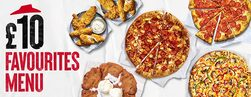 Large Pizza, Sides or Dessert for £10 each