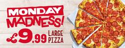 £9.99 Large Pizza Deal