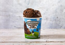 Ben & Jerry's Chocolate Fudge Brownie Ice Cream 465ml