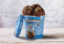 Ben & Jerry's Moo-Phoria Chocolate Cookie Dough Ice Cream 465ml