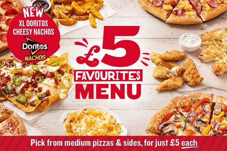Order Pizza For Delivery From Pizza Hut Uk